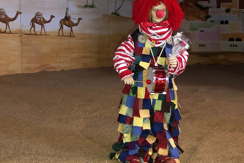Der Clown in der Kirch